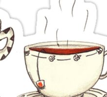 Coffee Cups Sticker