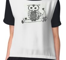 Owl and Owlet Chiffon Top