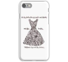 The Vintage Dress - Proverbs 31:25 iPhone Case/Skin
