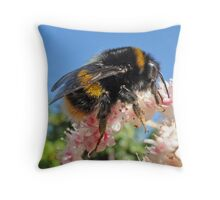 Bee - A Buzzing Thing Throw Pillow