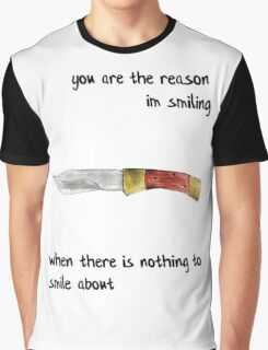the front bottoms - nothing to smile about Graphic T-Shirt