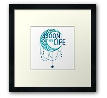 Moon Of Life: Color Framed Print