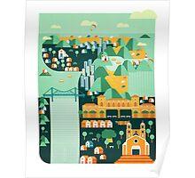 Floripa | Brazil Poster