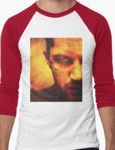 Fire and Blood Men's Baseball ¾ T-Shirt