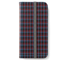 00976 Wilson's No. 198 Fashion Tartan  iPhone Wallet/Case/Skin