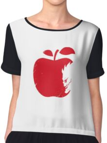 death note pomme Chiffon Top