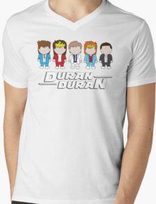 Duran Duran Mens V-Neck T-Shirt