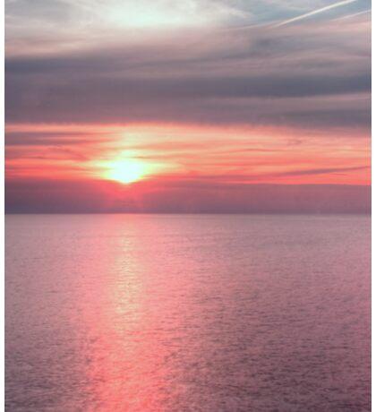 Norfolk summer sunset Sticker