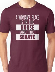 A Woman's Place Is in the Board Feminist Shirts, Shirt Gift Unisex T-Shirt