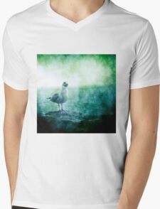 See the Seagull Mens V-Neck T-Shirt