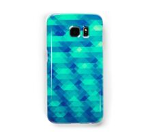 Modern Fashion Abstract Color Pattern in Blue / Green Samsung Galaxy Case/Skin