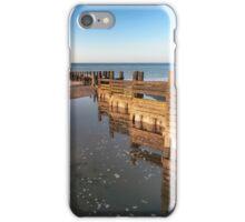 Norfolk groyne iPhone Case/Skin