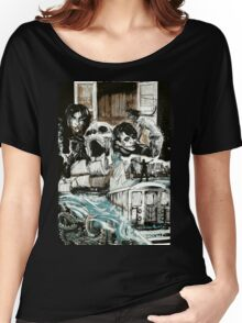"""Cover Art for """"Dark Tales from Elder Regions: New York"""" Women's Relaxed Fit T-Shirt"""