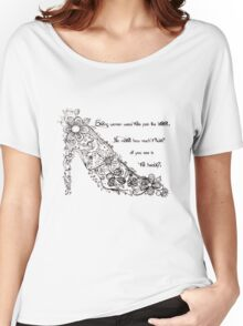 Strong Women and their Stilettos! - H Women's Relaxed Fit T-Shirt