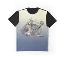 Dragon Fish in Water Graphic T-Shirt