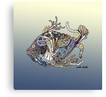 Dragon Fish in Water Canvas Print