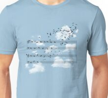 The Musical Notes Unisex T-Shirt