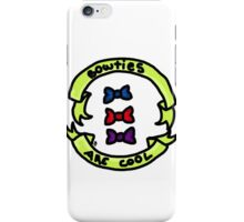 Bowties Are Cool iPhone Case/Skin