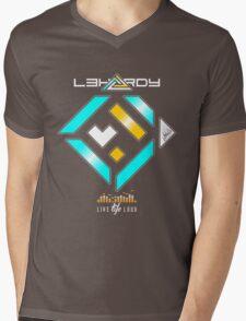 L3HARDY Mens V-Neck T-Shirt