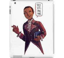 talk less smile more iPad Case/Skin