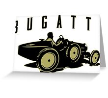 Bugatti 37a Greeting Card