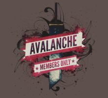 Final Fantasy VII - Avalanche Member's Only by Reverendryu