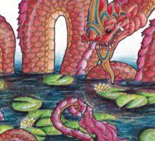 Phaya Naga - Serpent King Sticker