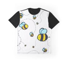 Bumble Pattern Graphic T-Shirt