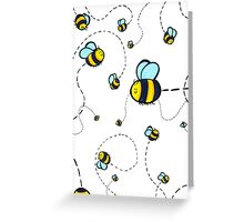 Bumble Pattern Greeting Card