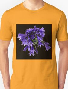 Purple Petal Clusters Unisex T-Shirt