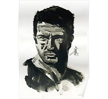 Nathan Drake from Uncharted Poster
