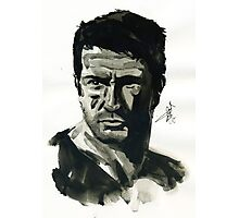 Nathan Drake from Uncharted Photographic Print