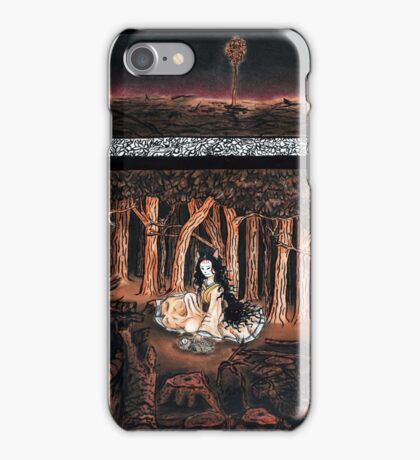 Destruction of the Forest iPhone Case/Skin