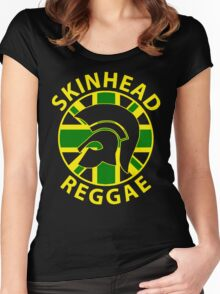 "SKINHEAD REGGAE "" JAMAICAN STYLE "" Women's Fitted Scoop T-Shirt"