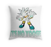 Silver The Hedgehog - It's no use  Throw Pillow