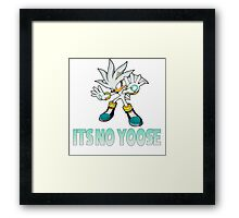 Silver The Hedgehog - It's no use  Framed Print