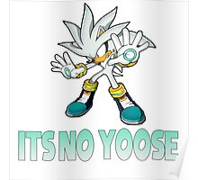 Silver The Hedgehog - It's no use  Poster