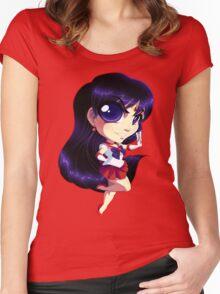 Sailor Moon: Sailor Mars Women's Fitted Scoop T-Shirt