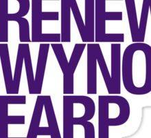 #RenewWynonnaEarp Sticker