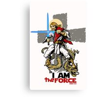 The FORCE itself. Canvas Print