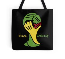 FIFA World Cup Logo Brazil 2014 with text Tote Bag