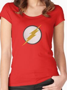 Flash Patch Women's Fitted Scoop T-Shirt