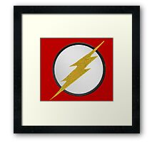 Flash Patch Framed Print