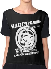 Marcus Munitions Chiffon Top