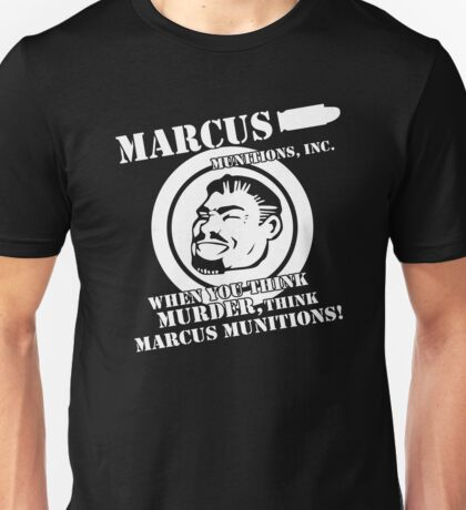 Marcus Munitions Unisex T-Shirt