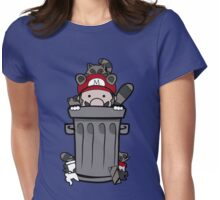 Mario Trash Womens Fitted T-Shirt