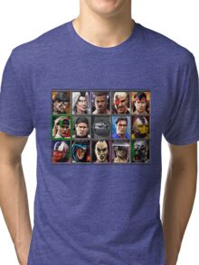 Mortal Kombat 3 Character Select Tri-blend T-Shirt
