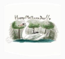 Swan Mother's Day Kids Tee