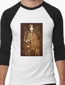 """Illustration for """"Hand of Bone"""" Men's Baseball ¾ T-Shirt"""