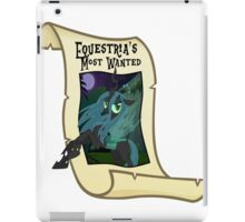 Equestria's Most Wanted - Queen Chrysalis iPad Case/Skin
